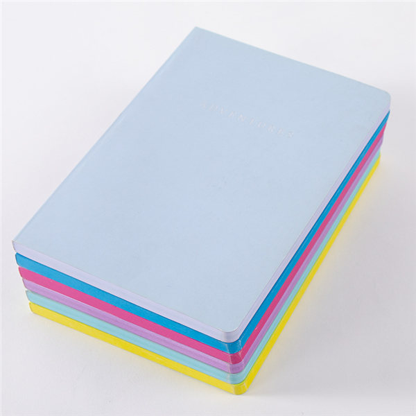A5 Colored-Edge Soft Covered Notebook
