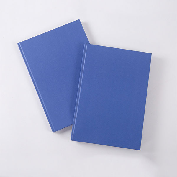 A4 laminated paper hardcased notebook