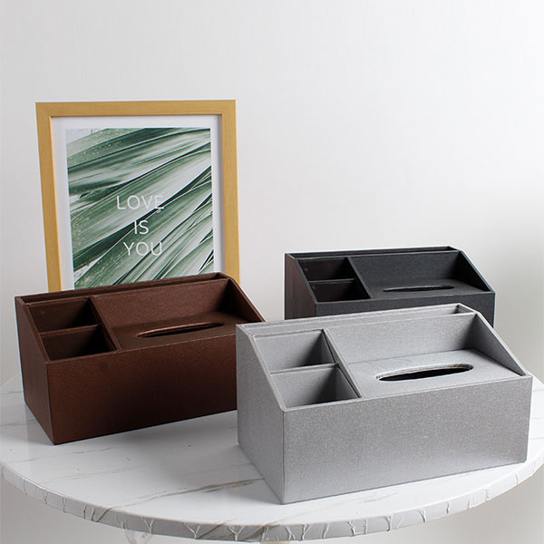 Book covering material multifunctional storage box