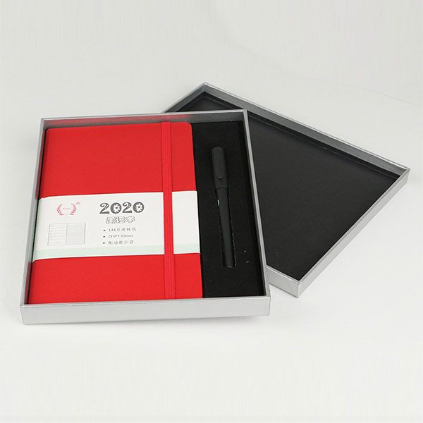 A5 book covering material weekly notebook set